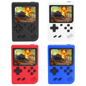 Newest 3 inch Portable Handheld Game Players Handheld Retro for FC Game Console Built-in 400 Games 8 Bit for Child Nostalgic