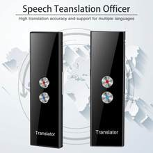 T8 PRO Mini 68 Multi-Idioma Tradutor Discurso Inteligente de Voz Tradução em Tempo Real Para A Aprendizagem Viagens de Negócios Se Reúnem Em estoque