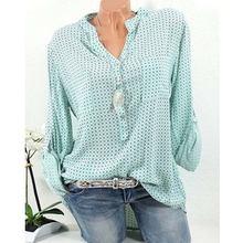 Diorobben 2020 Летняя женская блузка в горошек Модная рубашка