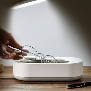 Image 1 - 新xiaomi eraclean超音波洗浄機45000 60hzの高周波振動洗浄クリーナー洗濯ジュエリーメガネ時計