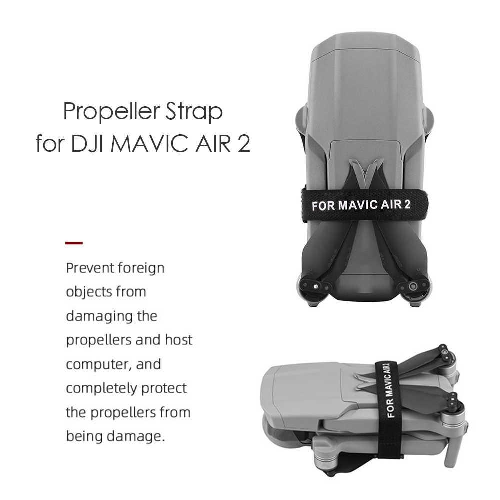 การออกแบบที่ละเอียดอ่อนทนทานใบพัดผู้ถือ 2pcs ใบพัด Protector Prop ผู้ถือ Stabilizers สำหรับ DJI Mavic Air 2