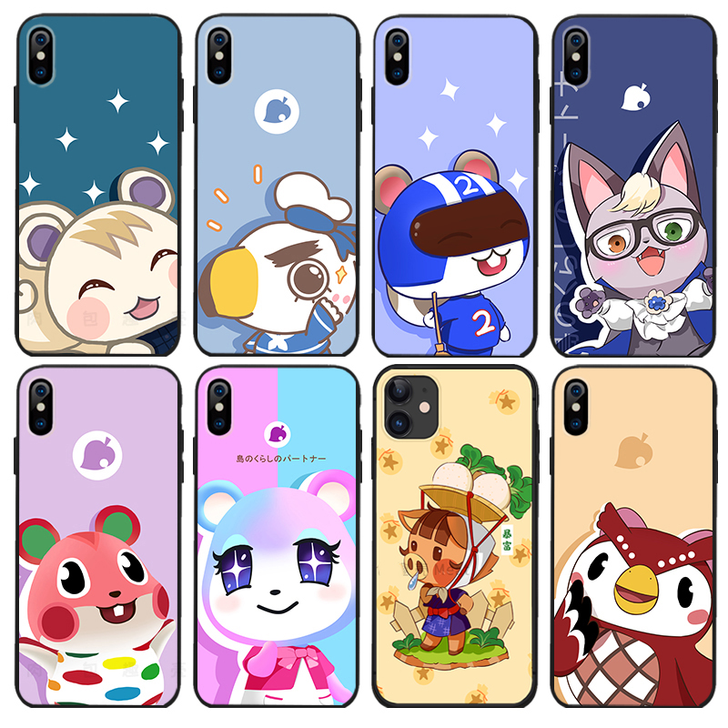 Animal Crossing Phone Case Raymond Judy <font><b>Audie</b></font> Marshal For <font><b>iPhone</b></font> 11 Pro Max XR XS Max 6S 8 <font><b>7</b></font> Soft Cover Shockproof Case image