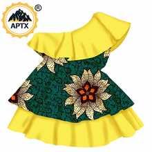 Африканские платья для девочек детские из 100% хлопка Дашики
