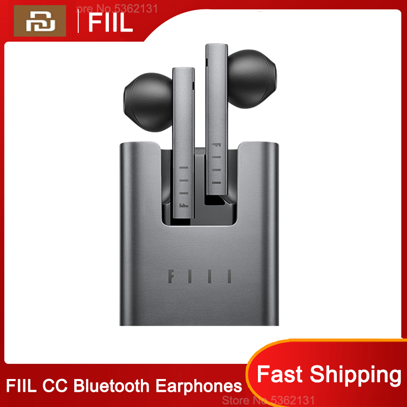 Youpin FIIL CC TWS Wireless Bluetooth Earphones Noise Reduction Sport Headphone Bluetooth 5 0 With Microphone For Smart Phone