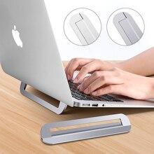 Tragbaren Laptop Stand Aluminium Faltbare Notebook Halterung Einstellbare Macbook Unterstützung Computer Zubehör Tablet Halter Für PC