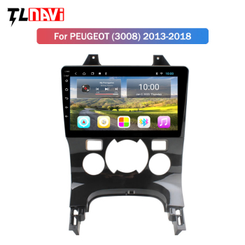 2G RAM Android 9.0 For Peugeot 3008 2009-2013 Car Radio Multimedia Video Player Navigation GPS image