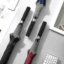 Umbrella Golf Umbrella Full Fiber Windproof Straight Long Handle Sunshade Business Advertising Umbrella Outdoor Large Umbrella