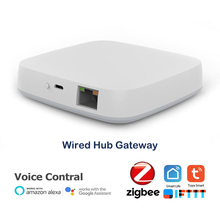 Tuya Smart ZigBee 3.0 passerelle Hub wifi maison intelligente pont application intelligente télécommande sans fil fonctionne avec Alexa Google Assistant