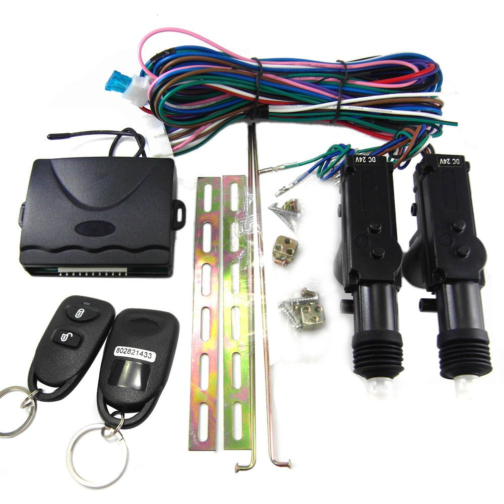 8114 Universal Keyless Entry System For Car Auto Remote Central Door Lock Vehicle Central Locking