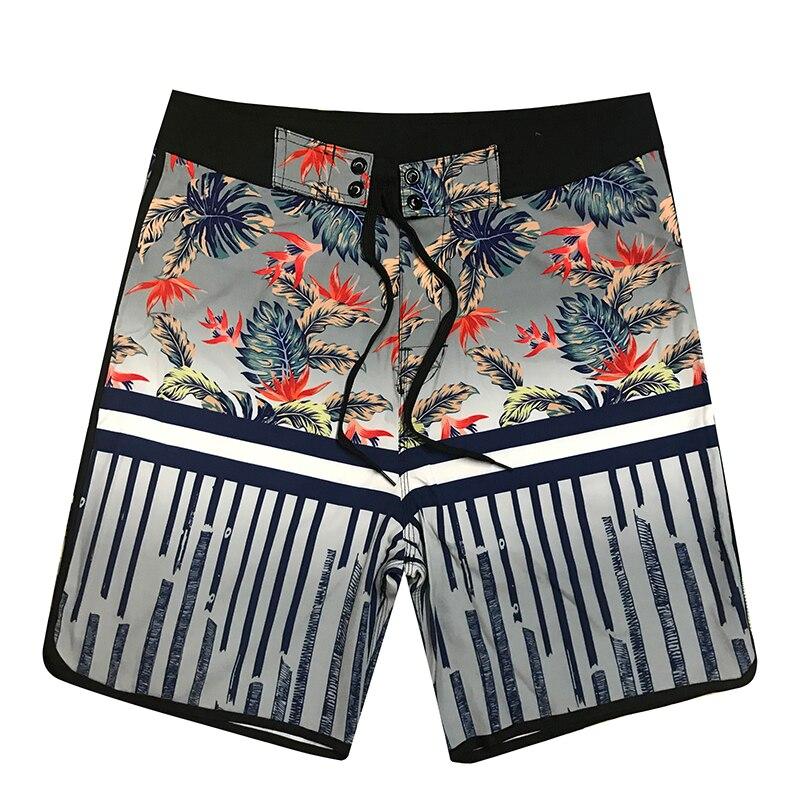 2019 New Men's Beachwear Halter Striped Cool   Board     Shorts   Quick Dry Watersport Swimming Trunks Summer Beach   Shorts   Surfwear