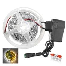 цена на 5m/10m White LED Strip SMD 5630 5730 Warm White/Cold White Flexible LED Strip DC 12V 2835 LED Tape Light No Waterproof 60leds/M