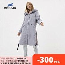 ICEbear 2020 kobiet kurtka wiosenna jakości kobiet płaszcz długie damskie parka odzież marki GWC20066I
