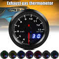 Новый Автомобильный термометр для выхлопных газов, 3 цифры, дисплей, автоматическая модификация, 12 В, 52 мм, измеритель температуры выхлопных ...