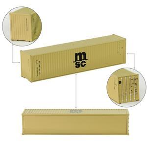Image 5 - 10 шт 40 футовые контейнеры 1:150 контейнер для перевозки с магнитом грузовой автомобиль N Масштаб модели поезда Лот C15008 железнодорожное моделирование