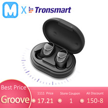 Tronsmart Onyx Neo APTX Bluetooth Earphone Tws Nirkabel Earbud dengan Qualcomm Chip, Kontrol Volume, 24H Waktu Bermain(China)