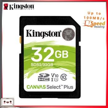 Kingston SD Memory Card 32 GB SDHC Digital Class 10 Storage Card 32gb Schede Memoria SD For Sony Digital Camera DSLR Card