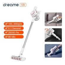Oryginalny ręczny bezprzewodowy odkurzacz Dreame V9 20000Pa odpylacz cyklonowy filtr ssący dla domu