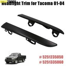 Apto para TY Toyota Tacoma 2001, 2002, 2003, 2004 parachoques delantero parrilla Faro de Trim paneles izquierda par 5251335060