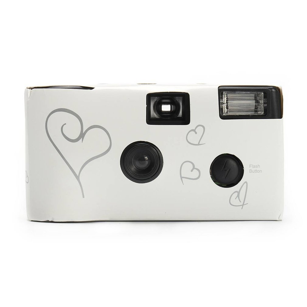 Retro 36 Photos 35mm Disposable Film Camera Manual Fool Optical Camera Children's Gifts One Time