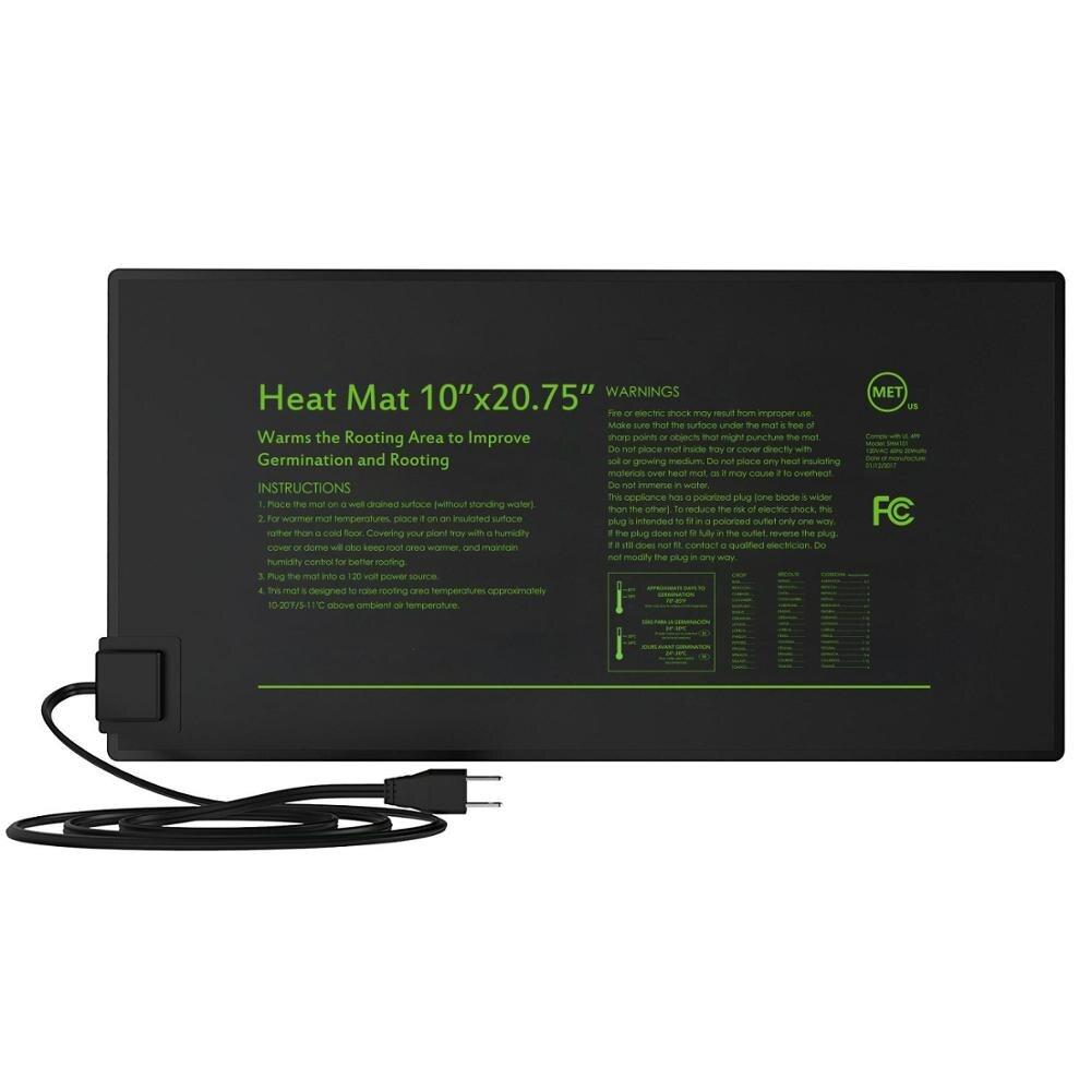 Durable Waterproof Seedling Heat Mat Warm Hydroponic Heating Pad 10