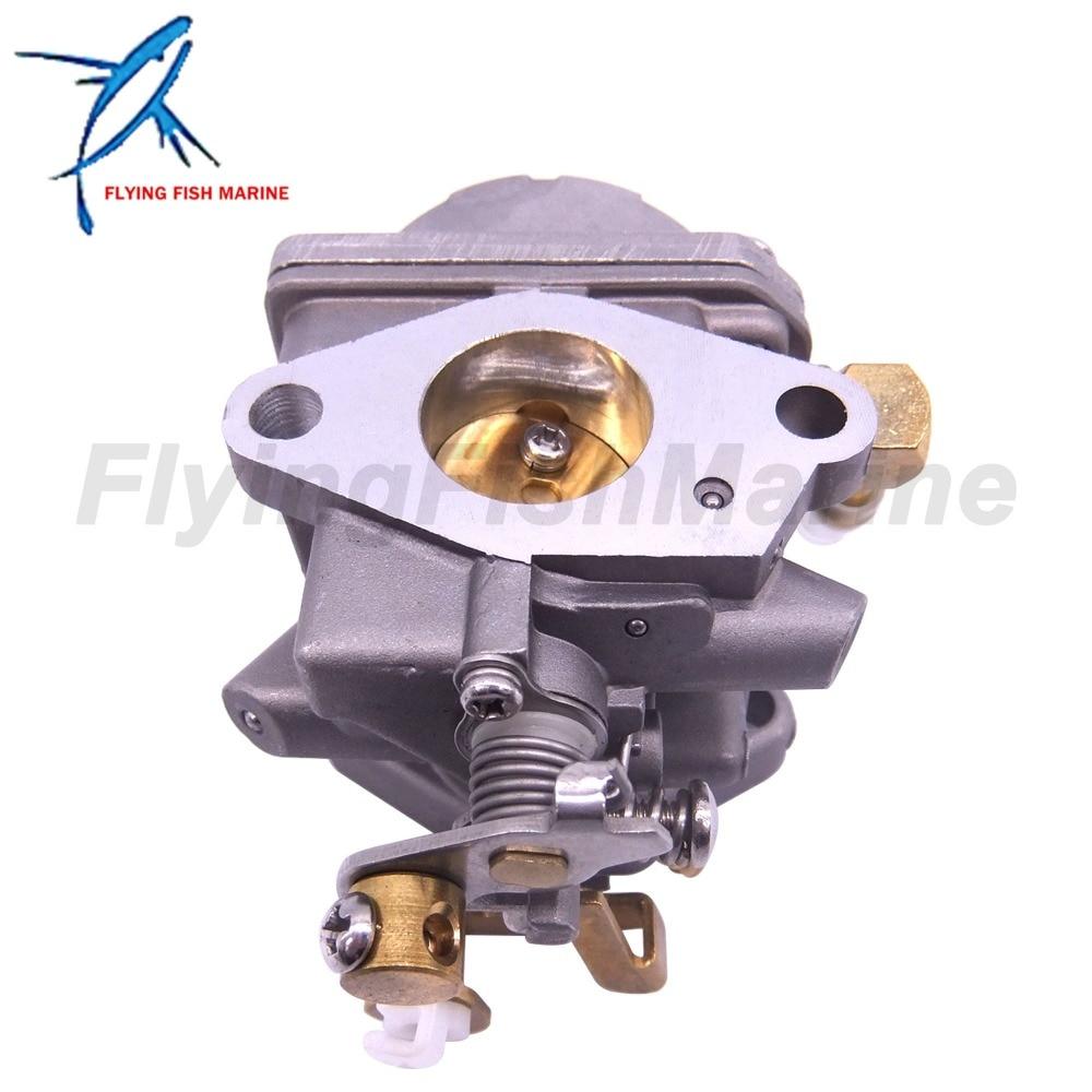 Carburateur Carb 13200-91J70 convient au moteur hors-bord Suzuki 4 temps DF6 DF4