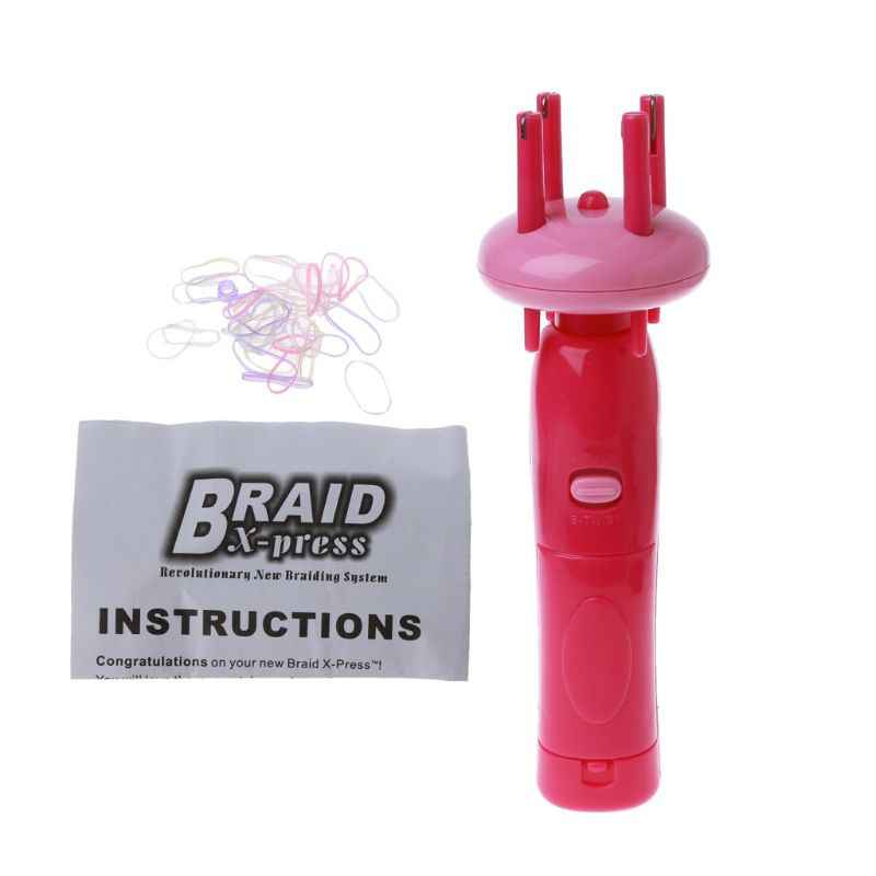 Easy Braids สร้อยข้อมือทอเครื่องประดับเครื่องมืออัตโนมัติ Twist Braider เครื่อง