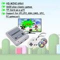 4k HD 64bit 1600 игр аркадная видео игровая консоль эмулятор ТВ Портативный Ретро игровой геймпад для Sega для Super Nintendo подарок