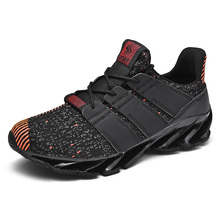 New Summer Mesh Sport Shoes Men Light Weight Anti-Slippery Breathable Running Mens High Quality Shock-Absorbant Sneakers
