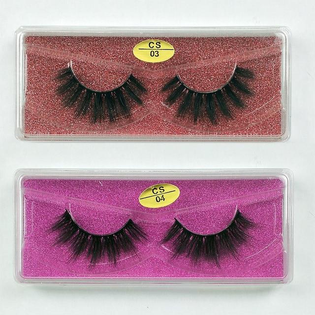 Wholesale Eyelashes 30/40/50/100pcs 3d Mink Lashes Natural Mink Eyelashes Wholesale False Eyelashes Makeup False Lashes In Bulk 3