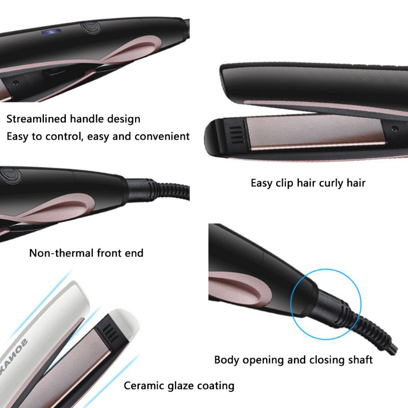 lcd straighteners curls ferros