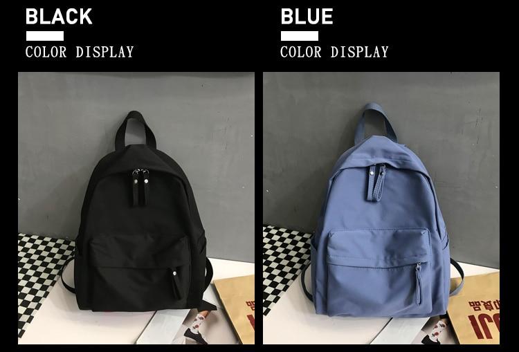 Fashion Backpack Canvas Women Backpack Anti-theft Shoulder Bag New School Bag For Teenager Girls School Backapck Female