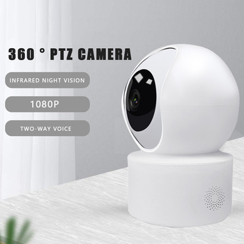 Fast Shipping IP Camera Smart Camera Webcam 1080P HD WiFi Pan-tilt Night Vision 360 Angle Video IP Cam Baby Security Monitor