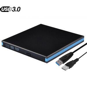 Externe Optische Stick USB 3.0 DVD RW Rewriter Brenner Für MacBook Pro Laptop Win 7/8. 1/10 Linux PC Notebook Fujitsu ACER ASUS
