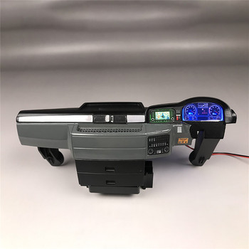 DIY Plastic Center Cab Console Interior Left Right for Tamiya 1/14 MAN TGX 56325 RC Model Truck Car Upgrade Parts