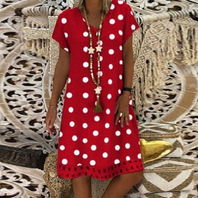 polka dot dress, work or play 3