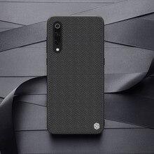 עבור For Xiaomi Mi 9 מקרה NILLKIN מרקם מקרה ניילון סיבי החלקה יוקרה עסקים חלבית חזרה כיסוי עבור for Xiaomi mi 9 explorer 6.39