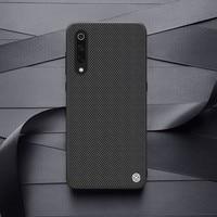 for Xiaomi Mi 9 case NILLKIN-funda texturizada antideslizante de fibra de nailon para Xiaomi Mi 9 explorer 6,39, funda trasera esmerilada para negocios