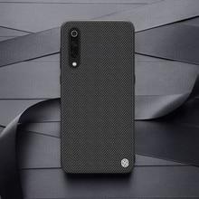 for Xiaomi Mi 9 case NILLKIN Textured Case Nylon Fiber Non slip Luxury Business Frosted Back Cover For Xiaomi Mi 9 explorer 6.39