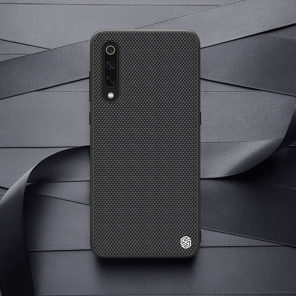 for Xiaomi Mi 9 case NILLKIN Textured Case Nylon Fiber Non-slip Luxury Business Frosted Back Cover For Xiaomi Mi 9 explorer 6.39