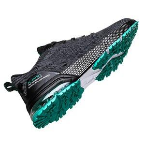 Image 4 - Mężczyźni buty 2019 dorosłych oddychające komfortowe tenisówki mężczyźni obuwie moda mężczyźni buty zasznurować mężczyźni Sneakers Zapatillas Deportiva