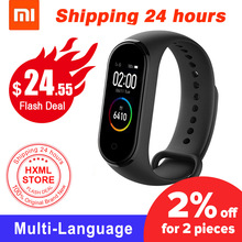 Xiaomi Color-Screen Bluetooth Fitness-135mah 4-Bracelet 4-Original Newest