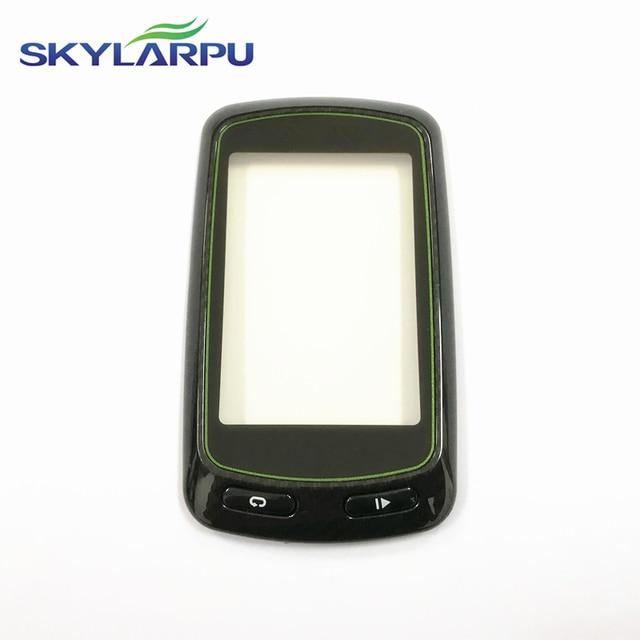 Skylarpu pantalla táctil capacitiva para Garmin Edge 810, 100%, GPS, para cronómetro de bicicleta, panel de Digitalizador de pantalla táctil
