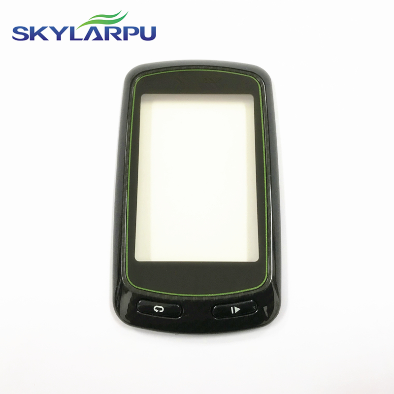 Skylarpu (100% Identical Use) Capacitive Touchscreen For Garmin Edge 810 GPS Bicycle Stopwatch Touch Screen Digitizer Panel