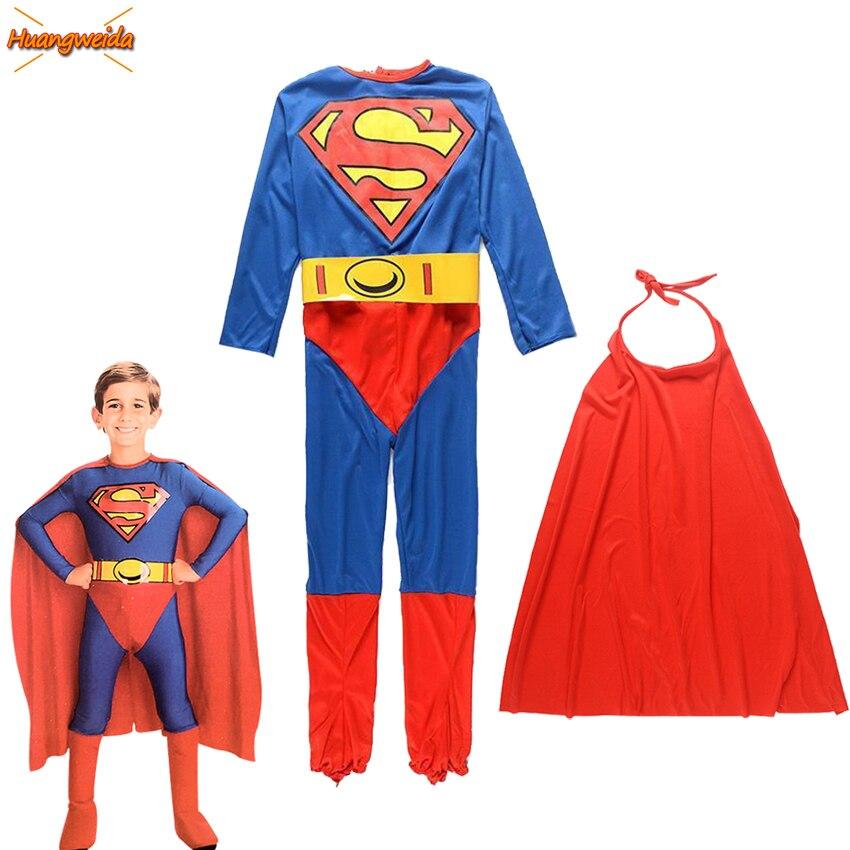 Superhero Costumes Kids Halloween Costumes For Kids Children Fancy Dress  Superhero Anime Costume Boys Super Man Cosplay
