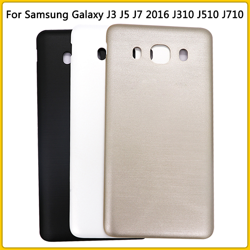 New J710 Rear Housing Case For Samsung Galaxy J7 2016 Version J710 J710F Battery Cover Door Rear Back Cover