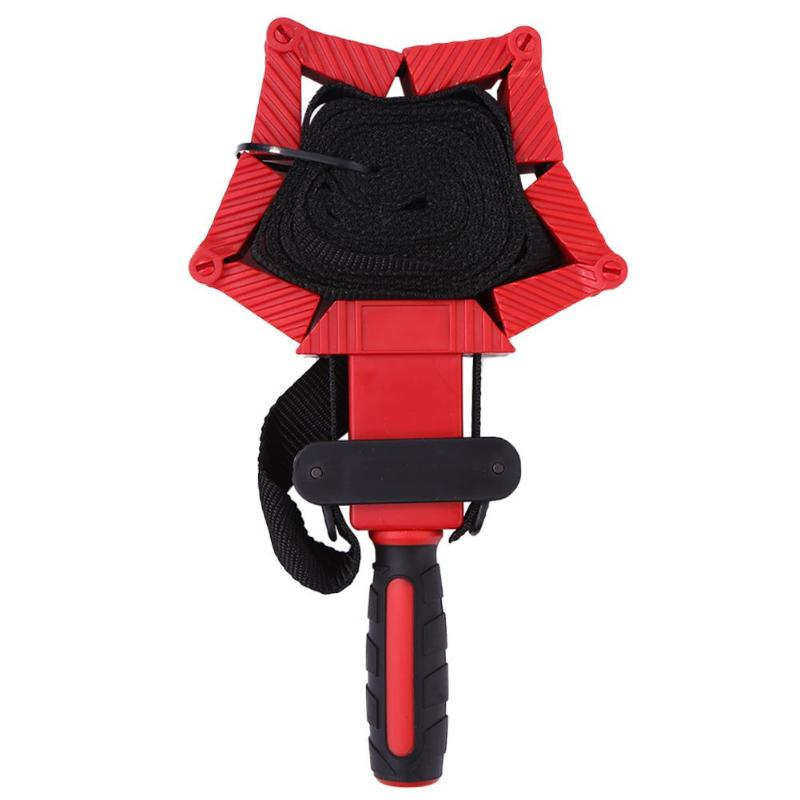 Multifunction Belt Clamp Woodworking TPR Dual-color Anti-skid Handle Wear Resistance Durable 4m Nylon Adjustable Polygonal Clip