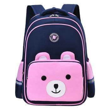 waterproof children school bags boys girls primary school backpacks kids cartoon orthopedic schoolbag backpacks mochila infantil