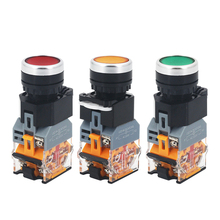 Светодиодные индикаторы, 55 В, 24 В, 22 мм, 220 В, 1 шт.