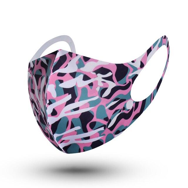 1Pcs Fashion Sponge Mouth Masks Unisex Face Cover Masks Washable Health Care Mouth Respirator Reusable 2