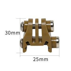 Image 3 - アクションカメラ用アクセサリーレールマウントエアガンライフルレーザーマウントアダプター移動プロ用osmoアクション